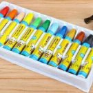 """12 color oil stick,washable,Paintbrush,Oil painting brush,crayon,pastels (buy 2 get 3)"""