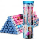 30 Pcs HB pencils Disney children's stationery barreled with rubber tip - No.2