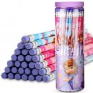30 Pcs HB pencils Disney children's stationery barreled with rubber tip - No.5