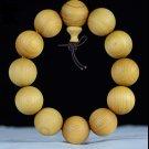handmade Cypress Buddha beads Hand string beads Wooden ornaments Buddhist Bracelet