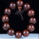 handmade Zambian red sandalwood agarwood Buddha beads Hand string Wooden ornaments Buddhist Bracelet