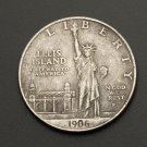 1906 statue of liberty US $1 Eagle torch bearer coin commemorative coin