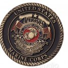 US commemorative coin Marine Corps demon dog gold coin Zodiac Dog Coin military metal badge