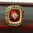NBA 1990 Detroit Pistons championship ring