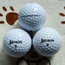 3 Srixon Z-Star golf balls,British Open Championship Professional ball, training ball, match ball