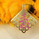Thailand temple TONG Fortune Gold leaf safety Buddha stickers amulet -No.1