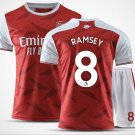 The Premier League Arsenal Football Club Jersey Cosplay suit T shirt Shorts sleeve No.8