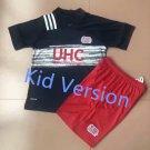 MLS Major League Soccer New England Revolution football club FC Cosplay Sports Wear shirt jersey kid
