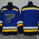 NHL National Hockey League St. Louis Blues Sports Cosplay Wear T shirt jersey