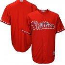 MLB Major League Baseball Philadelphia Phillies Sports Cosplay Wear T shirt jersey -No.E