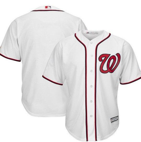 MLB Major League Baseball Washington Nationals Sports Cosplay Wear T shirt jersey -No.B
