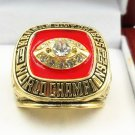 NFL 1969 Kansas City Chiefs  championship ring Fans collect commemorative ring