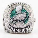 NFL 2018 Philadelphia Eagles championship ring Fans collect commemorative ring