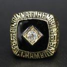 NFL 1981 Cincinnati Bengal championship ring Fans collect commemorative ring