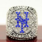 MLB 2015 New York Mets championship ring Fans collect commemorative ring