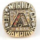 NFL 2001 Arizona Diamondbacks ARI championship ring Fans collect commemorative ring