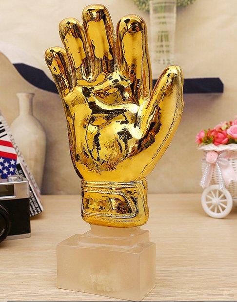 FIFA The World Cup football Golden Glove Award Yashin Award champions commemorative trophy