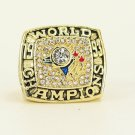 MLB 1993 Toronto Blue Jays championship ring Fans collect commemorative ring