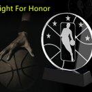 NBA Larry O'Brien NBA MVP Championship crystal Trophy medal Commemorative Trophy medal -7.2in
