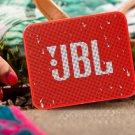 JBL Go 2 Bass Speaker Bluetooth Waterproof Portable Speaker -color:red