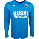 The Premier League Millwall F.C. Football Club FC Jersey T shirt Sleeve Cosplay shirt -No.2