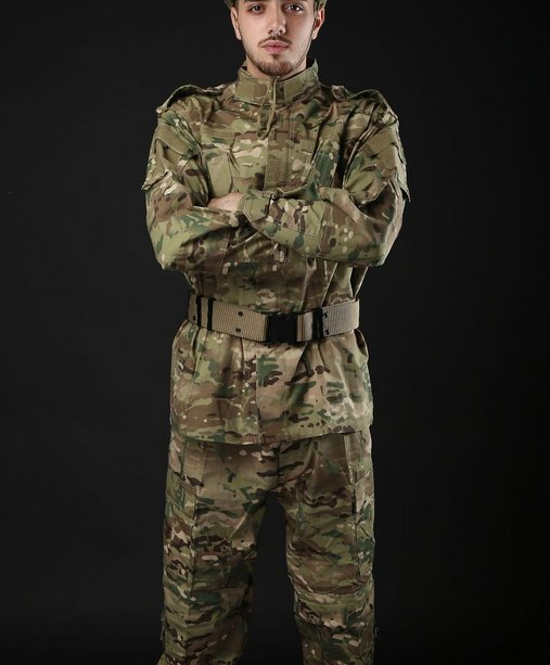 CP Python ACU desert ruins jungle camouflage Training clothes Field suit for military fans -No.1
