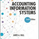Accounting Information Systems 10th Edition by James A. Hall pdf version