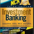 Investment Banking: Valuation, LBOs, M&A, and IPOs pdf version
