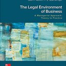 The Legal Environment of Business, A Managerial Approach 4th edition  pdf version