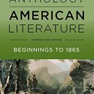 The Norton Anthology of American Literature Shorter 9th edition  pdf version