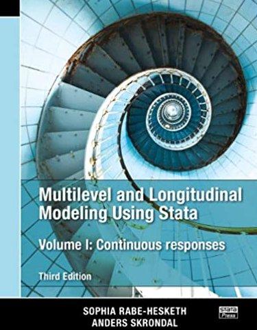 Multilevel and Longitudinal Modeling Using Stata, Volumes I pdf version