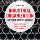 Industrial Organization Competition Strategy and Policy 5th edition pdf version