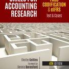 Skills for Accounting Research, 4e FASB Codification & eIFRS pdf version