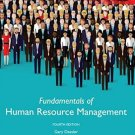 Fundamentals of Human Resource Management 4th Global edition pdf version