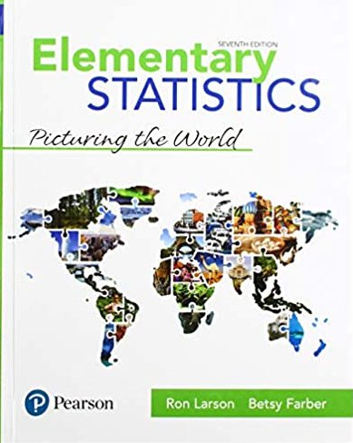 Elementary Statistics Picturing the World 7th edition pdf version