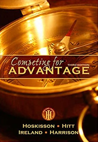 Competing for Advantage 3rd Edition Hoskisson pdf version