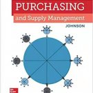 Purchasing and Supply Management 16th Edition pdf version