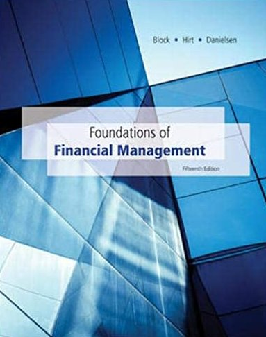 Foundations of Financial Management 15th Edition pdf version