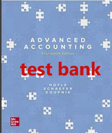test bank Advanced Accounting 14th edition by Joe  pdf version