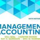 Management Accounting 6th Edition by Will Seal pdf version A