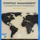 Strategic Management: Concepts and Cases: Competitiveness and Globalization 13th Edition pdf version