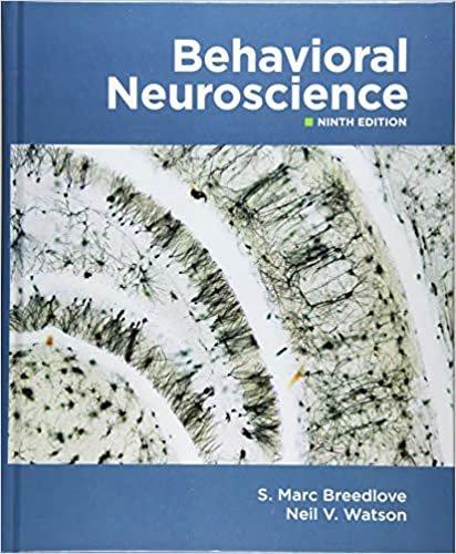 Behavioral Neuroscience 9th Edition by S. Marc Breedlove pdf version