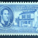 USA 1950 Indiana territory sesquicentennial commemorative stamp