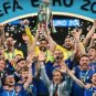 2020 European Football Italy Championship De Laone Cup Fans collect commemorative Trophy -6.3in