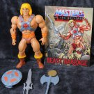 He-man masters of the Universe  100% Complete all accessories Action Figure 1983