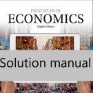 Solution manual of Principles of Economics 8th Edition pdf version