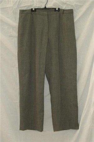 Ann Taylor Gray Wool Dress Career Pants Lk Nw Sz 16 XL