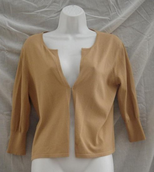 Express NWT Khaki Shirt 3/4 Sleeve Large 44.50 Retail
