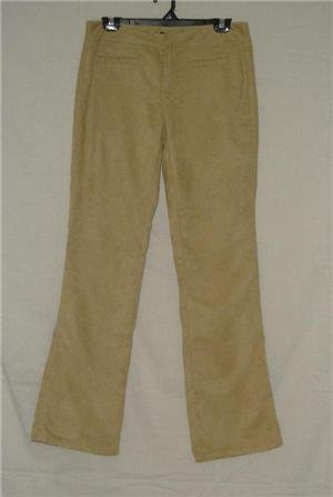 Z Cavaricci Faux Suede Low Rise Pants sz 9 33 Inseam 9L