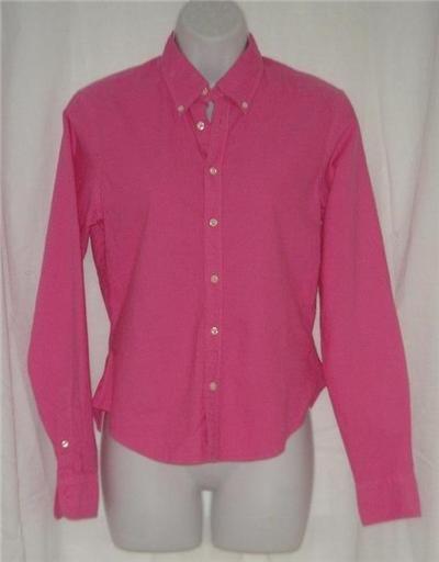 NWT Polo Ralph Lauren Pink LS Button Down Shirt 6 Small